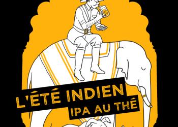 illustration packaging design étiquette bière